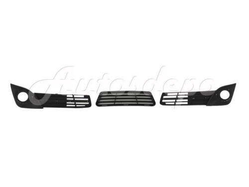 New Front Bumper Lower Grille Fog Light Hole Cover Bezel For 2012-2014 Camry Se