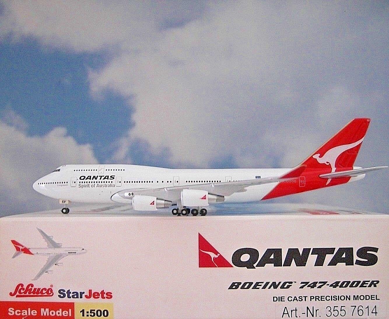 Starjets 1 500 Boeing 747-400ER Qantas Vh-Oef 3557614 Modellairport500