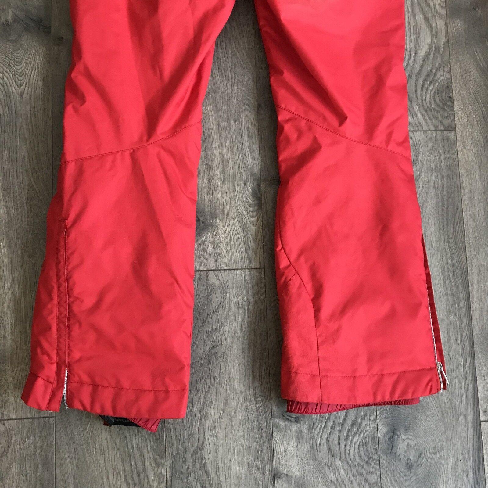 GOLDWIN G-8352EL SKI Snowboard Race Racing Pants ROT Woman's Woman's Woman's Größe 10 7cae04