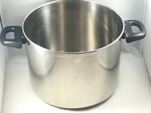 Megaware 8 Quart Stainless 2 Handles Stock Pot No Lid Made