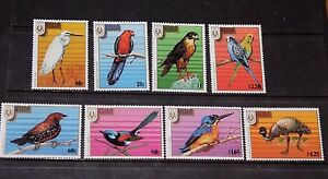 NIUE-1986-STAMPEX-86-BIRDS-SET-OF-8-FINE-M-N-H