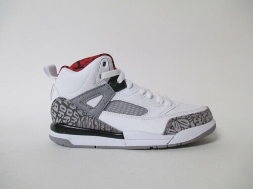 Nike Air Jordan Spizike White Red Cement Grey Blk PS Pre School Sz 11 317700-122