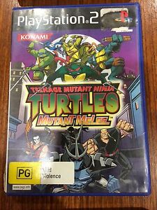 teenage-mutant-ninja-turtles-TMNT-mutant-melee-Playstation-2-complete-ps2