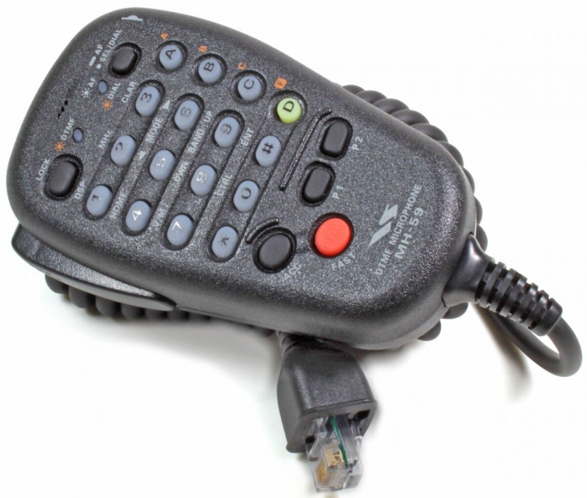 Yaesu MH-59A8J Remote Control Mic - For FT-897D & FT-857D - USA Yaesu Dealer!. Available Now for 89.34
