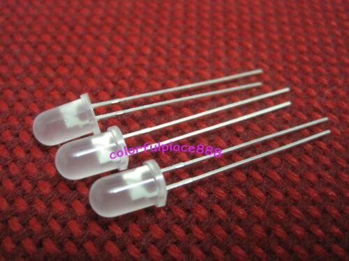 50pcs 5mm Blue Diffused Round Bright LED Leds 5K MCD Lamp Bulb Resistors