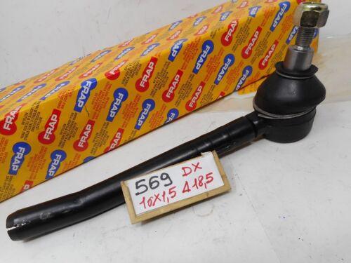 Testina sterzo anteriore dx destro Ø 16X1,5 mm Fiat 242E Tie Rod End
