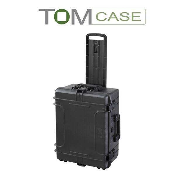 Outdoor Case Trolley, Kamerakoffer wasserdicht IP67, Fotokoffer mit Rasterschaum