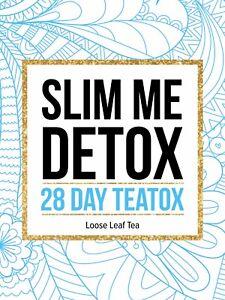 Detox Tea 28 Day Teatox-Fat Loss-Green- Herbal -Weight Loss- No Laxative-SLIM ME