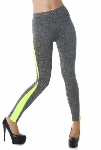 Leggings Hose lang Sport Freizeit Shorts bunt Muster Legings Sommer Größe Neu