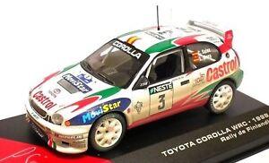 TOYOTA-COROLLA-WRC-3-1999-RALLYE-FINLANDE-SAINZ-MOYA-1-43-IXO-ALTAYA-FINLAND