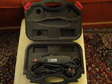 pro tool 140 watt complete with carry case like dremel/ black and decker wizard