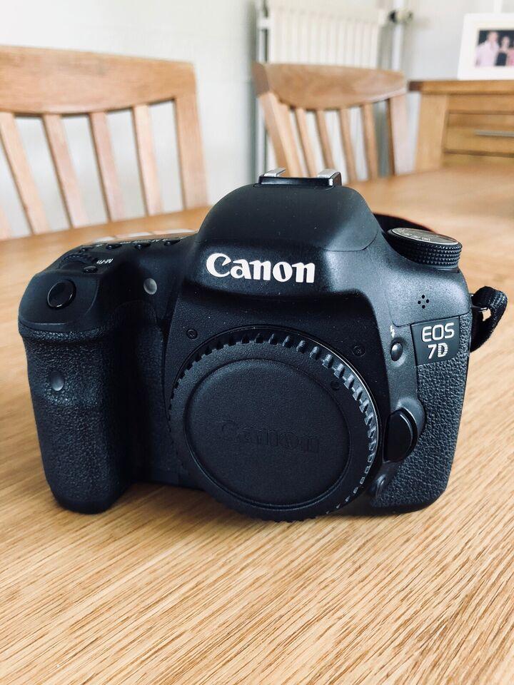 Canon, Canon 7D, 18 megapixels