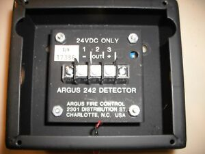 Details about ARGUS 242 INFRARED FLAME DETECTOR