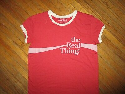 Coca Cola The Real Thing Womens T-Shirt