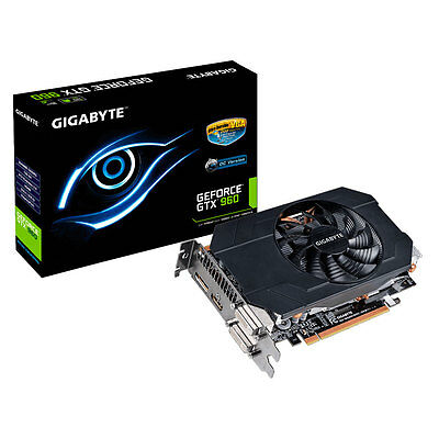 Gigabyte Nvidia GeForce GTX 960 2GB DDR5 DVI HDMI Gaming Graphics Card Overclock