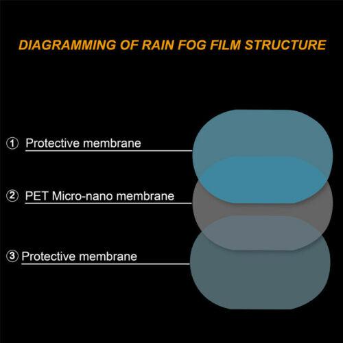 Car Side Rearview Mirror Waterproof Anti-Fog Rain-Proof Film Side Glass Film