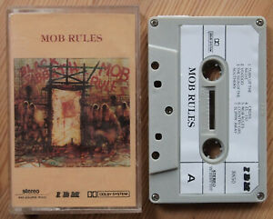 BLACK-SABBATH-MOB-RULES-IBM-88502-RARE-UNOFFICIAL-CASSETTE-TAPE-HARD-ROCK