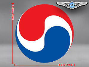 KOREAN-AIR-KAL-LOGO-ROUND-STICKER-DECAL