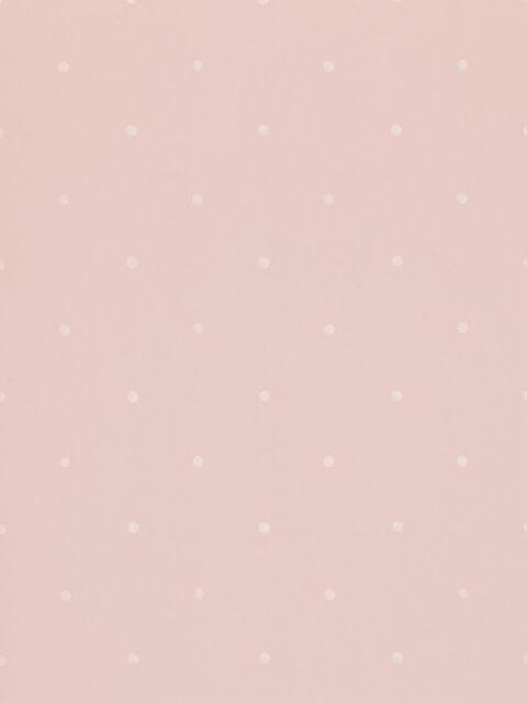 Polka Paste the Wall Wallpaper, Pink