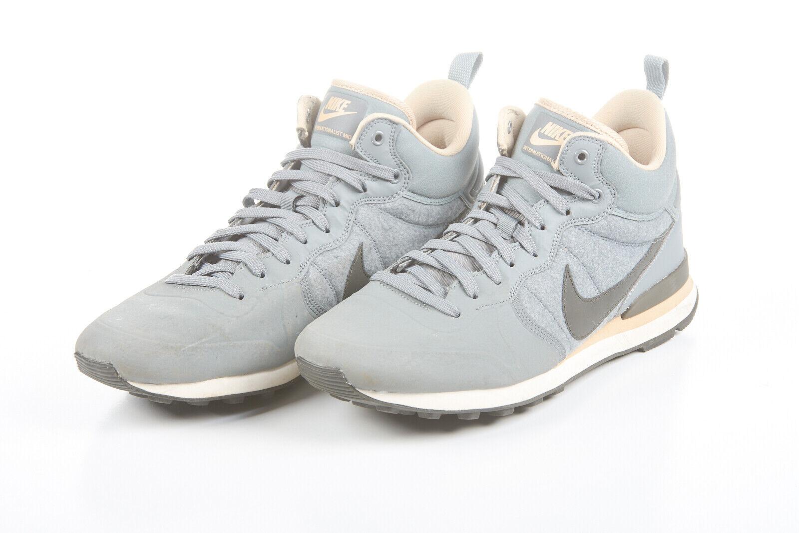 NWOT Mens NIKE shoes 12.5 Internationalist Utility Wool Grey Pewter 857937-003