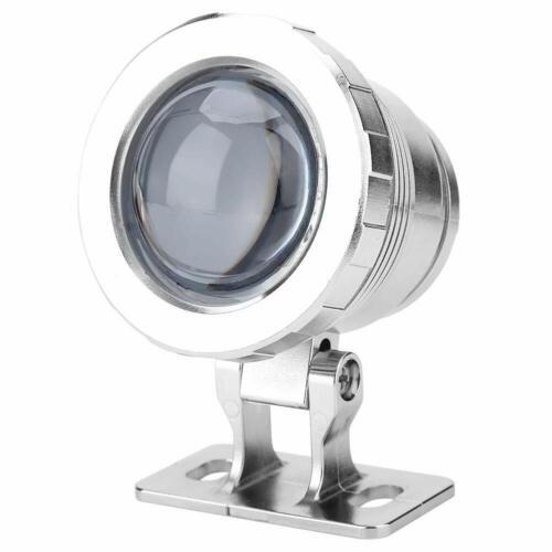 EU-Stecker LED Außenstrahler mit Fernbedienung Scheinwerferlampe Pool Pond