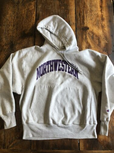Vintage 90s Northwestern Champion Reverse Weave Ho