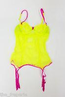 Mimi Holliday By Damaris Wizz Pop Body Suit With Suspenders (m)