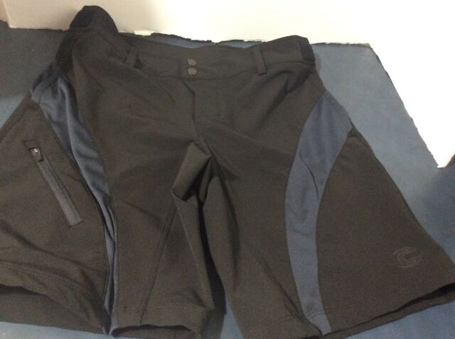 Cannondale Men/'s Classic Cycling Shorts w// Chamois Breathable Black NEW