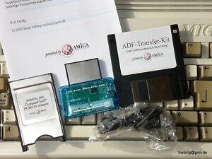 Mega-ADF-Transfer-Kit-CF-PCMCIA-Amiga-600-1200-lt-gt-PC-USB-Card-Reader