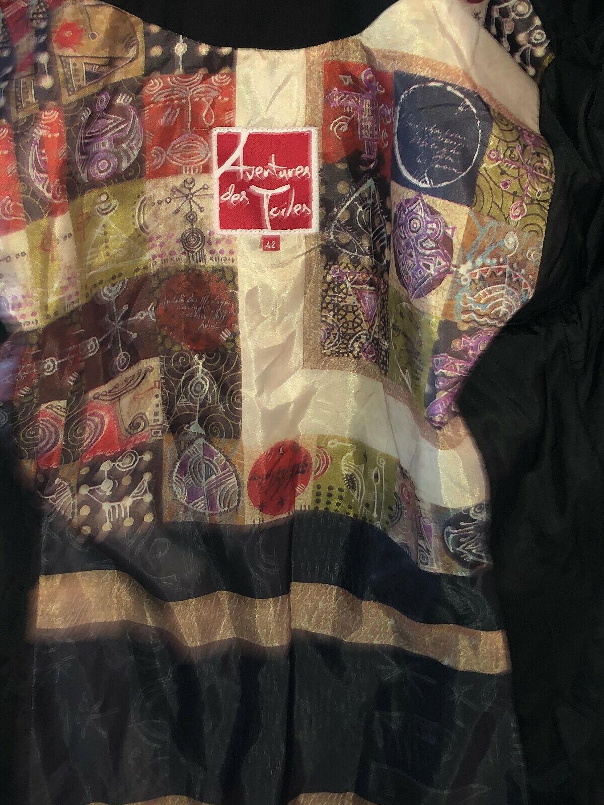 Pretty Coat Patchwork aventures des toiles Size 4… - image 5