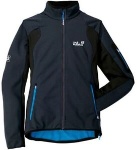 Details about Jack Wolfskin Womens Softshell Jacket baryon Highly Breathable bi elastic READ show original title