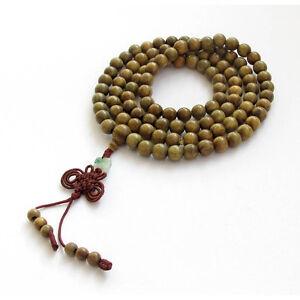 Fragrant-108-Sandalwood-Beads-Buddhist-Prayer-Mala-Necklace-Bracelet
