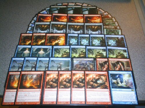 MTG Magic FLASHBACK DECK Innistrad Sorceries and INSTANTS BURNING VENGEANCE Lot
