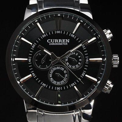Cool Army Military Quartz Watch Men Luxury Full Steel Dress Sport Watch Male Uhr