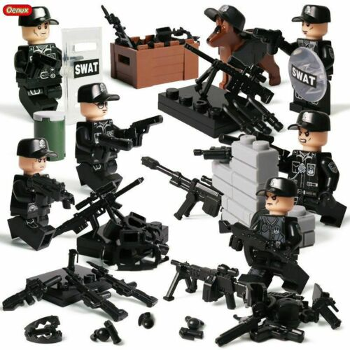 WW2 Militar Army Soldiers Figures Weapons Building Block Brick Toy Kids Gift,New