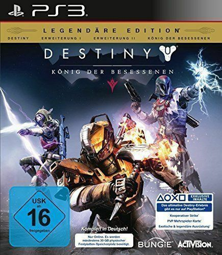Destiny: König der Besessenen - Legendäre Edition (Sony PlayStation 3, 2015)