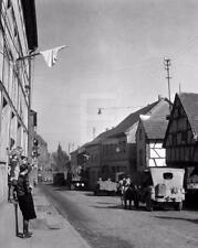 1945 WW2 Remagen German Us Army WWII Photo FL152