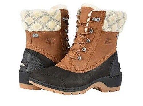 spedizione gratuita! New donna Sorel Whistler Mid Camel Leather Waterproof stivali stivali stivali NL2982-22  grandi risparmi