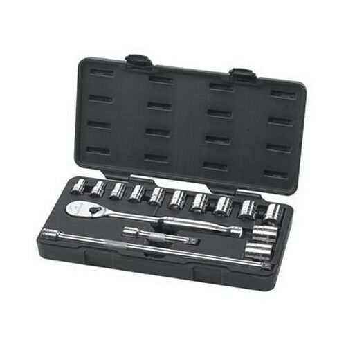 "Gearwrench 80706 15 piece 1//2/"" Drive SAE Socket Set"