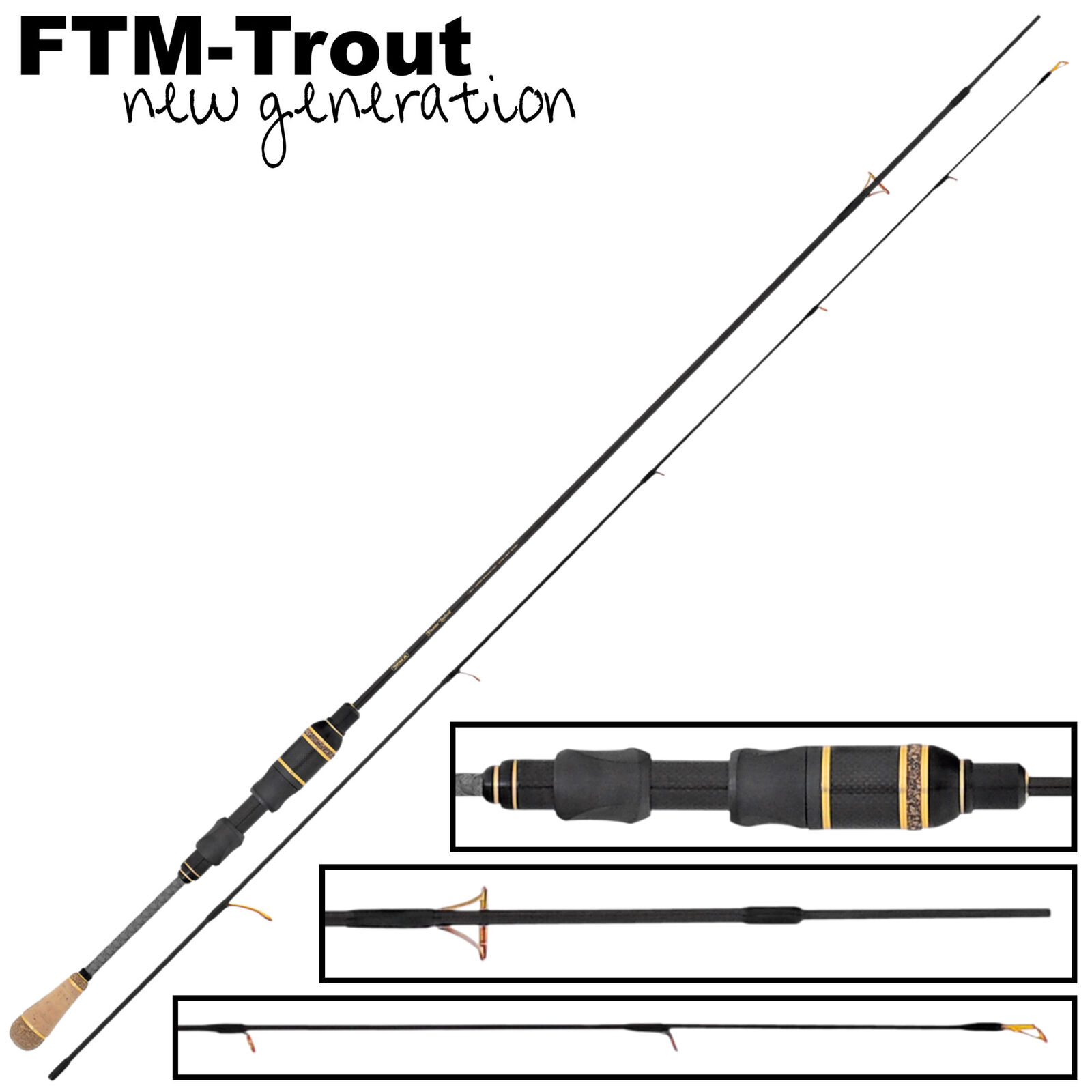FTM Finesse Limited Light Rute 1,80m 0,8-4,5g - Spinnrute, Ultra Light Rute