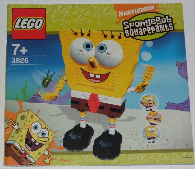 Lego SpongeBob Build - A - Bob 3826 inkl. OBA (ohne Box)
