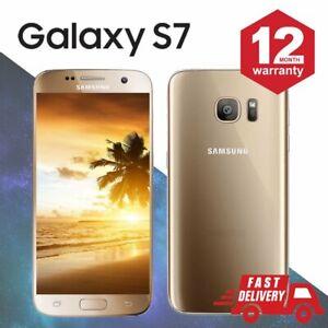 Samsung-Galaxy-S7-32GB-Android-debloque-Telephone-Gold-Grade-A