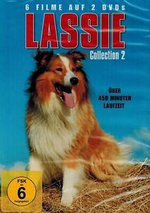 DOPPEL-DVD-NEU-OVP-Lassie-Collectiopn-2-6-Filme