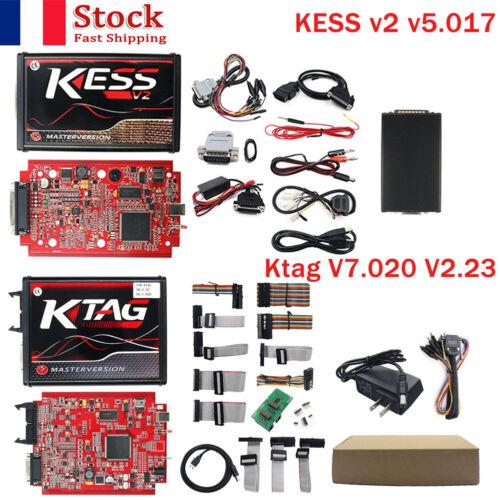 ESS V2 V2.47 V5.017 UE Titane Winols KTAG V7.020 ECU OBD voiture camion outil