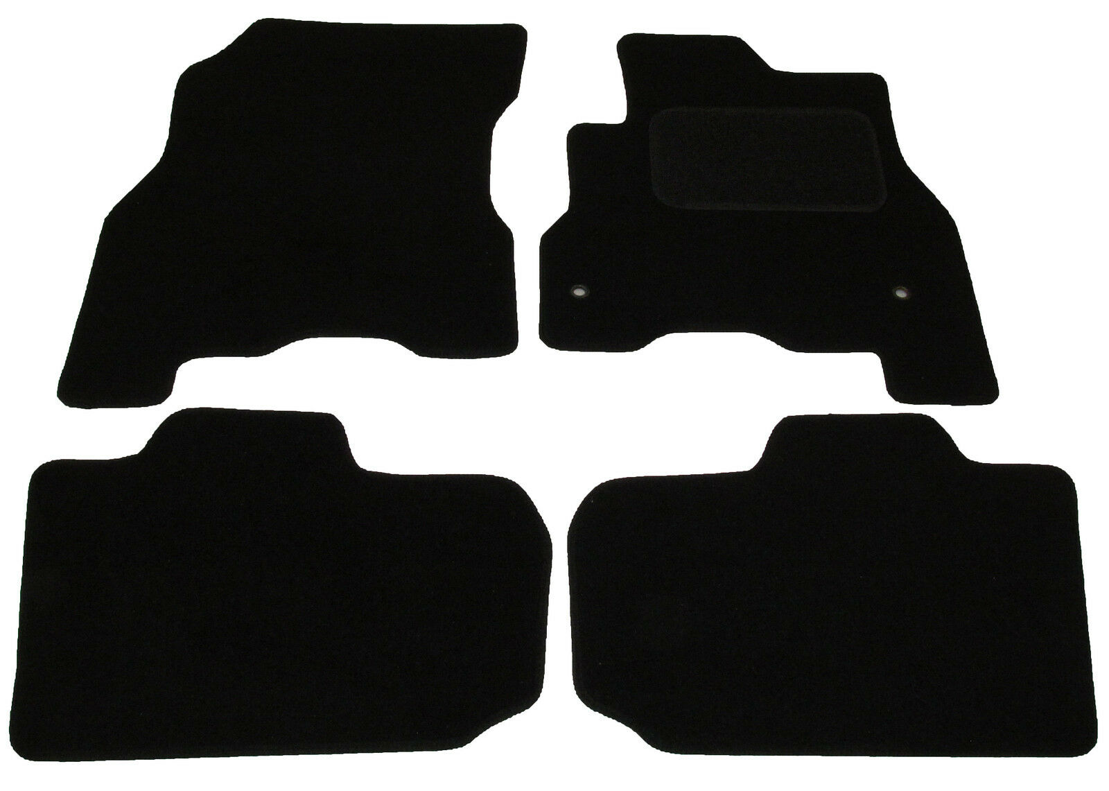 Tailored Car Mats Nissan Leaf With 2 Clips 2014 2015 2016 2017 Ebay