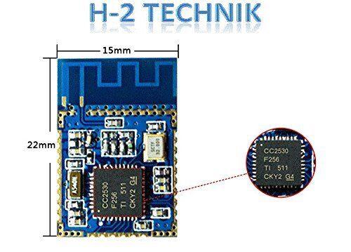 Ti cc2530f256 l/'UART à ZigBee modules 80 m de portée H2 z-003