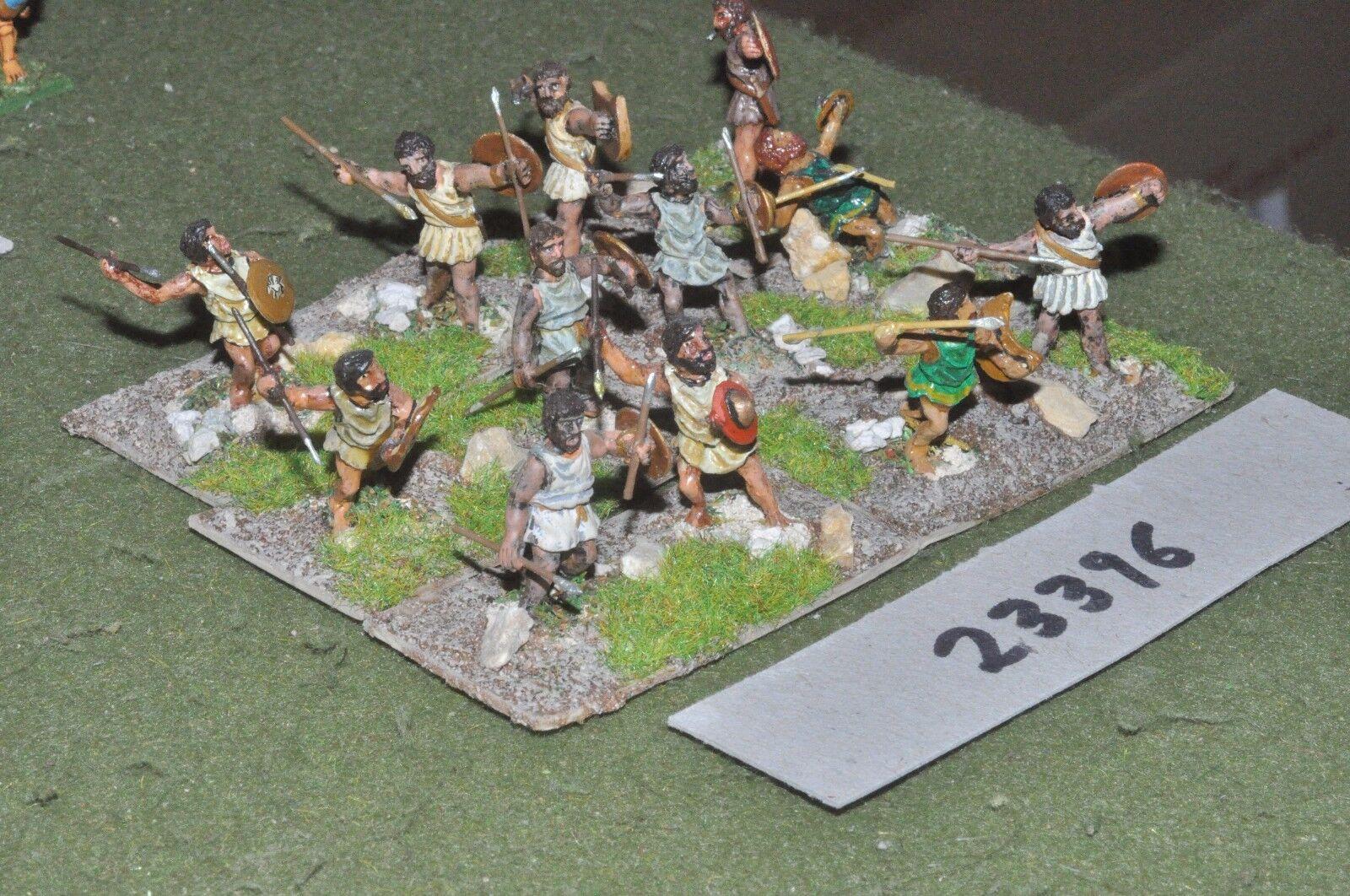 25 mm Classique Macedonian-javelinmen 12 figures-INF (23396)