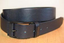 Hugo Boss Herren Gürtel 50307715 TOMASINO Leder anthrazit 105-40 112cm