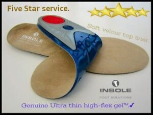 GEL-INSOLES-WORK-BOOTS-ORTHOTIC-FOOT-ARCH-SUPPORT-HEEL-SHOE-GEL-INSERTS-GEL
