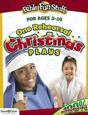 One Rehearsal Christmas Plays (Bible Funstuff), Smiley, Kendra, Acceptable Book